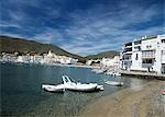 Looking across bay to the town,Cadaques,Catalunya,Spain                                                                                                                                                  Stock Photo - Premium Rights-Managed, Artist: Axiom Photographic       , Code: 851-02962887