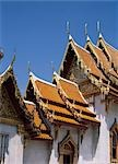 Wat Benchamabophit,Bangkok,Thaiiland                                                                                                                                                                     Stock Photo - Premium Rights-Managed, Artist: Axiom Photographic       , Code: 851-02963394