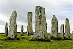 Callanish standing stones,Outer Hebrides,Scotland                                                                                                                                                        Stock Photo - Premium Rights-Managed, Artist: Axiom Photographic       , Code: 851-02963932