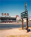 Gas Station,Rt. 178,CA,USA,California,USA                                                                                                                                                                Stock Photo - Premium Rights-Managed, Artist: Axiom Photographic       , Code: 851-02964043