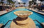 Hotel pool.  South Beach,Miami,USA                                                                                                                                                                       Stock Photo - Premium Rights-Managed, Artist: Axiom Photographic       , Code: 851-02964102