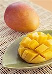 Mango Stock Photo - Premium Royalty-Free, Artist: Photocuisine, Code: 670-02966348