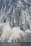 Rocky Cliff with Scree Slope and Talus Lake, Tombstone Territorial Park, Yukon, Canada Stock Photo - Premium Rights-Managed, Artist: J. David Andrews         , Code: 700-02967558