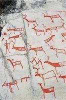prehistoric - Prehistoric Rock Carvings, Alta, Norway Stock Photo - Premium Rights-Managednull, Code: 700-02967617