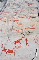 prehistoric - Prehistoric Rock Carvings, Alta, Norway Stock Photo - Premium Rights-Managednull, Code: 700-02967618