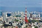 Tokyo Tower, Tokyo, Kanto Region, Honshu, Japan Stock Photo - Premium Rights-Managed, Artist: Rudy Sulgan              , Code: 700-02972749