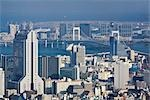 Rainbow Bridge, Odaiba, Tokyo, Kanto Region, Honshu, Japan
