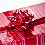Wrapped Gift Stock Photo - Premium Royalty-Free, Artist: Noel Hendrickson         , Code: 600-02972915