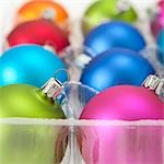 Christmas Ornaments Stock Photo - Premium Royalty-Free, Artist: Noel Hendrickson         , Code: 600-02972920