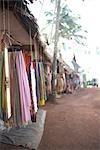 Shops at Varkala Beach, Varkala, Kerala, India