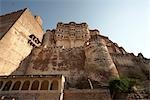 Mehrangarh Fort, Jodhpur, Rajasthan, India                                                                                                                                                               Stock Photo - Premium Rights-Managed, Artist: Sarah Murray             , Code: 700-02973042