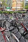 Bikes Parked in Namba, Osaka, Kansai, Japan Stock Photo - Premium Rights-Managed, Artist: Rudy Sulgan              , Code: 700-02973227