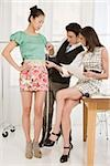 Fashion designers at work Stock Photo - Premium Royalty-Free, Artist: Masterfile, Code: 614-02984943