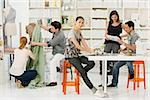 Fashion designers at work Stock Photo - Premium Royalty-Free, Artist: Masterfile, Code: 614-02984964