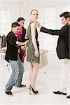 Fashion designers at work Stock Photo - Premium Royalty-Free, Artist: Masterfile, Code: 614-02984967