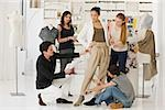 Fashion designers at work Stock Photo - Premium Royalty-Free, Artist: Masterfile, Code: 614-02984999