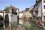 Palais de l'isle annecy Stock Photo - Premium Royalty-Freenull, Code: 614-02985326