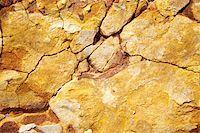 Close up image of cracked rocks Stock Photo - Premium Royalty-Freenull, Code: 614-02985427