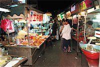 food stalls - Taiwanese food market, Taipei                                                                                                                                                                            Stock Photo - Premium Rights-Managednull, Code: 855-02985710