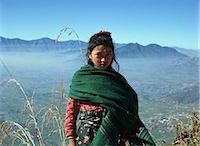 Mountain girl, Pokhara, Nepal                                                                                                                                                                            Stock Photo - Premium Rights-Managednull, Code: 855-02985844