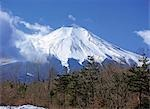 Mt. Fuji, Yamanashi, Japan                                                                                                                                                                               Stock Photo - Premium Rights-Managed, Artist: Oriental Touch           , Code: 855-02985995