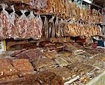Dried fish store                                                                                                                                                                                         Stock Photo - Premium Rights-Managed, Artist: Oriental Touch           , Code: 855-02987078