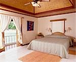 Bedroom (interior)                                                                                                                                                                                       Stock Photo - Premium Rights-Managed, Artist: Oriental Touch           , Code: 855-02987085