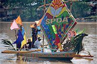 pictures philippine festivals philippines - Fluvial parade                                                                                                                                                                                           Stock Photo - Premium Rights-Managednull, Code: 855-02987156