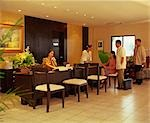 Guests at Central Park Hotel, Tarlac                                                                                                                                                                     Stock Photo - Premium Rights-Managed, Artist: Oriental Touch           , Code: 855-02987194