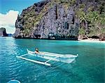 El Nido Resorts, Palawan                                                                                                                                                                                 Stock Photo - Premium Rights-Managed, Artist: Oriental Touch           , Code: 855-02987208