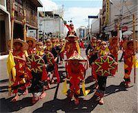 pictures philippine festivals philippines - Kadayawan Street dancers                                                                                                                                                                                 Stock Photo - Premium Rights-Managednull, Code: 855-02987231