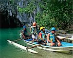 Underground river, Palawan                                                                                                                                                                               Stock Photo - Premium Rights-Managed, Artist: Oriental Touch           , Code: 855-02987383