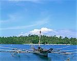 Boats at Samal Island, Davao City                                                                                                                                                                        Stock Photo - Premium Rights-Managed, Artist: Oriental Touch           , Code: 855-02987440