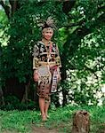 Bagobo Tribeswoman