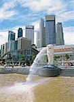 The Merlion                                                                                                                                                                                              Stock Photo - Premium Rights-Managed, Artist: Oriental Touch           , Code: 855-02987823