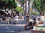 Bikes on street, Ho Chi Minh, Vietnam                                                                                                                                                                    Stock Photo - Premium Rights-Managed, Artist: Oriental Touch           , Code: 855-02987923