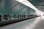 Maglev train platform, Shanghai                                                                                                                                                                          Stock Photo - Premium Rights-Managed, Artist: Oriental Touch           , Code: 855-02988233