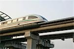 Maglev train, Shanghai                                                                                                                                                                                   Stock Photo - Premium Rights-Managed, Artist: Oriental Touch           , Code: 855-02988463