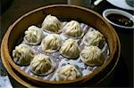 Steamed dumplings, Taipei, Taiwan                                                                                                                                                                        Stock Photo - Premium Rights-Managed, Artist: Oriental Touch           , Code: 855-02988547