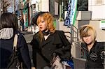 Girls dressed up at Harajuku, Tokyo, Japan                                                                                                                                                               Stock Photo - Premium Rights-Managed, Artist: Oriental Touch           , Code: 855-02989400