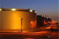 Oil Refinery in Schwechat, Vienna, Austria Stock Photo - Premium Rights-Managednull, Code: 700-02990035