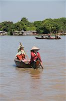 Tonle Sap Lake, Vietnamese Boat People, near Siem Reap, Cambodia, Indochina, Southeast Asia, Asia                                                                                                        Stock Photo - Premium Rights-Managednull, Code: 841-02990592