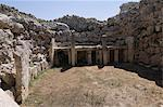 Ggantija, a prehistoric temple constructed around 3000 BC, UNESCO World Heritage Site, Gozo, Malta, Europe                                                                                               Stock Photo - Premium Rights-Managed, Artist: Robert Harding Images, Code: 841-02991129
