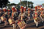 Marching bands on Sultan's birthday, Jogjakarta, Java, Indonesia, Southeast Asia, Asia                                                                                                                   Stock Photo - Premium Rights-Managed, Artist: Robert Harding Images, Code: 841-02991317