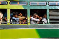 Passengers on a bus in Tamil Nadu state, India, Asia                                                                                                                                                     Stock Photo - Premium Rights-Managednull, Code: 841-02991566
