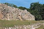 The ball court, Uxmal, UNESCO World Heritage Site, Yucatan, Mexico, North America                                                                                                                        Stock Photo - Premium Rights-Managed, Artist: Robert Harding Images, Code: 841-02991675