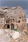 Cave dwellings, near Goreme, Cappadocia, Anatolia, Turkey, Asia Minor, Asia                                                                                                                              Stock Photo - Premium Rights-Managed, Artist: Robert Harding Images, Code: 841-02992045