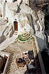 Cappadocia Cave Hotel, Goreme, Cappadocia, Anatolia, Turkey, Asia Minor, Asia                                                                                                                            Stock Photo - Premium Rights-Managed, Artist: Robert Harding Images, Code: 841-02992050