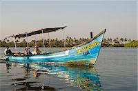 Tourist boats on backwater near Mobor, Goa, India, Asia                                                                                                                                                  Stock Photo - Premium Rights-Managednull, Code: 841-02992234