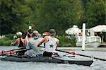 Rowing at the Henley Royal Regatta, Henley on Thames, England, United Kingdom, Europe                                                                                                                    Stock Photo - Premium Rights-Managed, Artist: Robert Harding Images, Code: 841-02992771